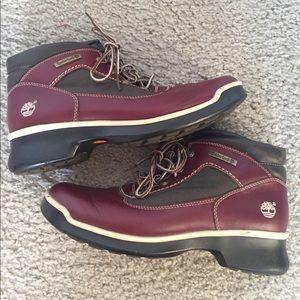 Timberland Boots Burgundy